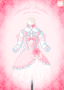 Ballet Lolita Winter Dress by Neko-Vi