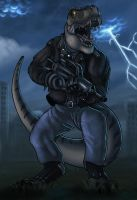 Commission: Hunter's Roar by AltairSky
