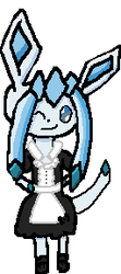 Wow Glaceon.. you look cute. by Adagiod