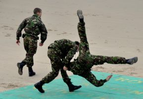 Royal Marines hand combat 2 by younghappy