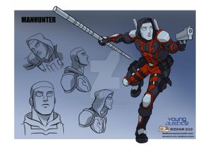 Young Justice Character Designs, Manhunter 2