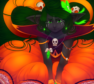 Obligatory Halloween thing by Azulua