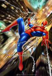 SPIDERMAN _ Stan Lee tribute by johnbecaro
