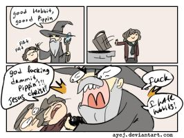 The Lord of the Rings, doodles 12 by Ayej
