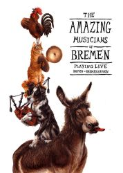 The Musicians of Bremen by kenket