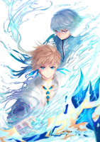 Tales of Zestiria : Sorey and Mikleo by Yun-Afezeria