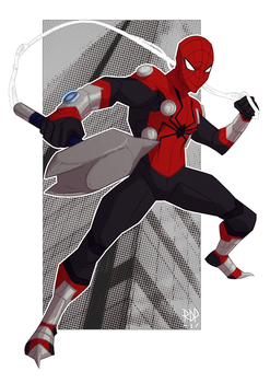 mighty spider by samuraiblack