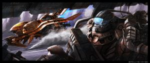 Battle Taxis by sekido54