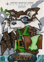Guardians of the Galaxy - Rocket Raccoon by 10th-letter