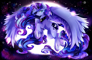 Princess Luna - Bright Night by Invidiata