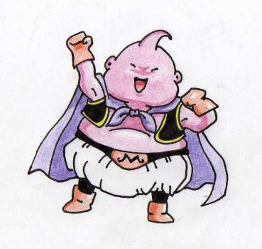 Little Majin Buu by IrreveRender