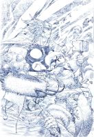 Pencils for ink sample 4 by rogercruz