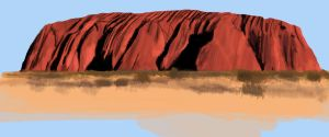Ayers Rock study. by doktorno