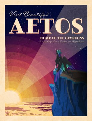 Aetos Tourism Poster by Gryphonwolf6274