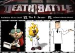 Professor E. Gadd vs. The Professor vs Professor U by xFlowerstarx