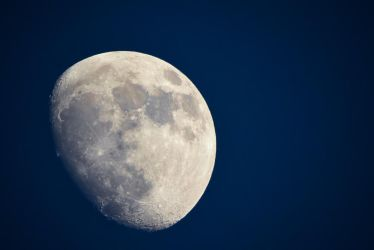 The Moon by sampok