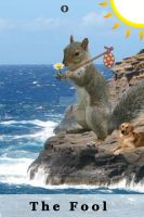 0-The Fool Squirrel Tarot by Yamtharf