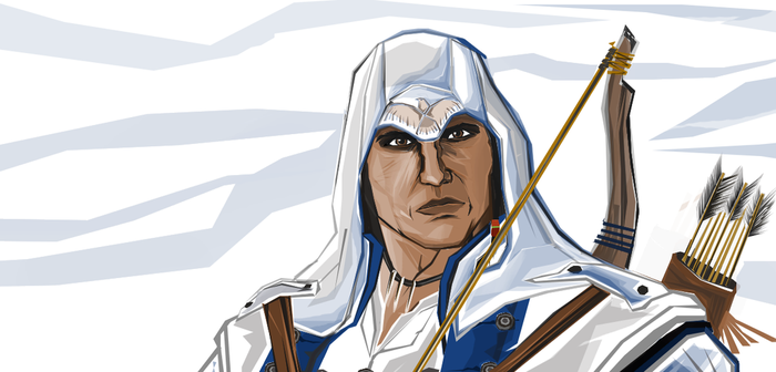 Connor Assassin's Creed 3 by PCalavera