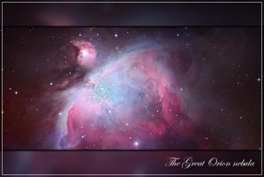 Another Orion nebula by kopfgeist79
