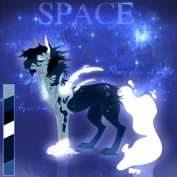 [REF] - Space~ by AlphaRose24