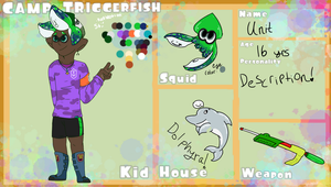 Camp Triggerfish App: Unit! by Squid-Cookies