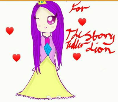 Princess for TheStoryTellerLion  by SugarSprinklesxox