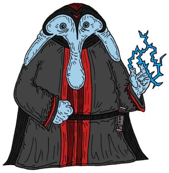 Ortolan Sith by Lordwormm