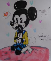 japanese Mickey by westhemime