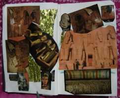 1st Altered Book 7, Favorites by angelstar22