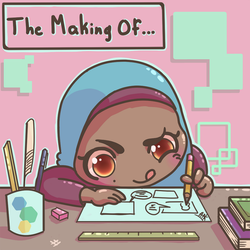 The Making Of... Webtoon series by Ark-illustrates