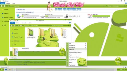 Tema android para windows 8.1 by TutosLadyPink