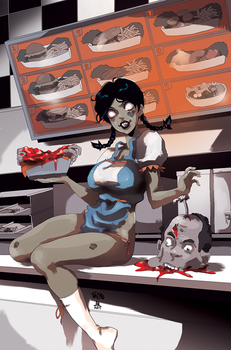 COLORS Zombie Tramp ISSUE 7 cover by jasinmartin