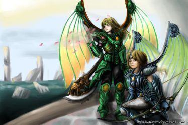 Twin Dragoons~request from dottypurrs by lydia-san