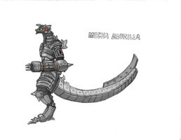 Mechagodzilla by Kaijudude