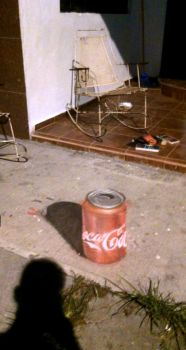 Anamorfosis coca by wizhoodrawer
