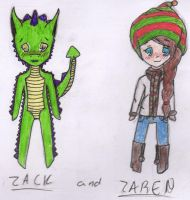 Zack and Zaren by Ahtilak