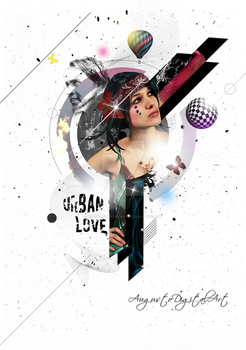 Poster Mixed Pictures by AugustoDigitalArt
