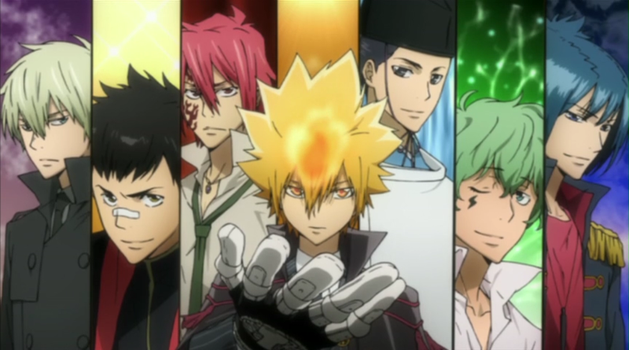 Vongola Primo Family by DeathTheShinigami