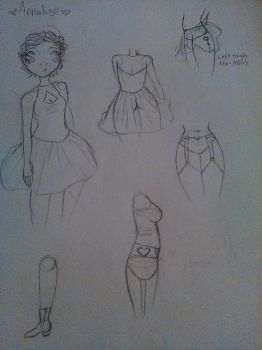 Annalise Doodles by All-The-Fish-Here