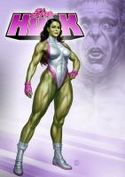 She-Hulk by RUSvobodin