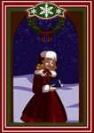 Advent Calendar|Day 22 and 23. Carols by Lounabis