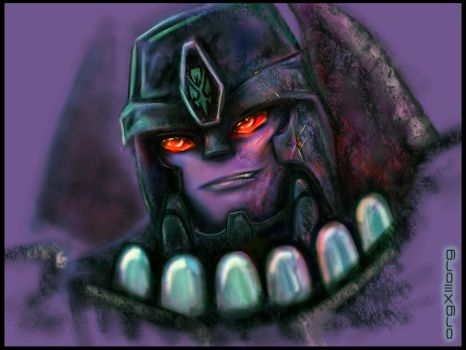 Megatron | TF Beast Wars by sniperdusk