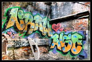 Industrial Graffiti II by turbokeith
