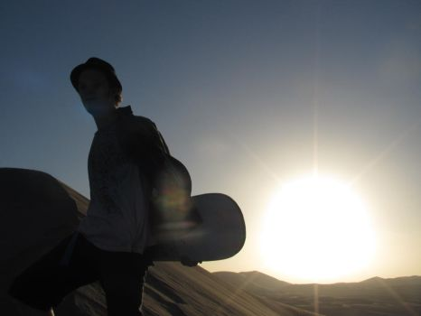Sandboarding by thebcmc