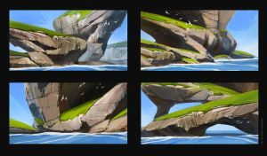cliff sketches by sheer-madness