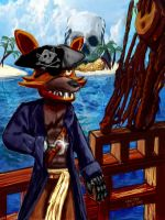 Captain Foxy - Pirate's Life for Me! by ekoi1995