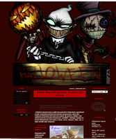 Template Halloween by Andro1990