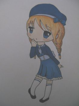 Sailor chibi by Axuww