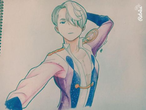 Traditional Victor Nikiforov ::Yuri On Ice:: by SonicaTheHedgehogNYU