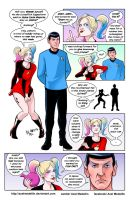 TLIID 251: Harley Quinn and Spock by AxelMedellin